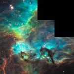 NASA Photo by Star-Birth Region Revealed by Hubble