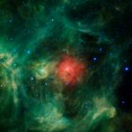 Photograph of Wreath Nebula by NASA